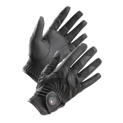 Premier Equine Ascot Horse Riding Gloves-Black